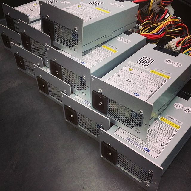 Proud to help this customer out of a bind with these retrofit psus for discontinued model FSP300-50GLV. Let us help you out of a bind too! ATXPOWERSUPPLIES.COM PSU FSP300-50GLV PowerSupplies computers controls ControlSystems