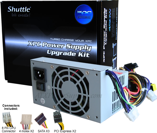 450 Watt Power Supply Shuttle PC55 600x510 shuttle pc55 power supply 450 watt revision 2  at crackthecode.co