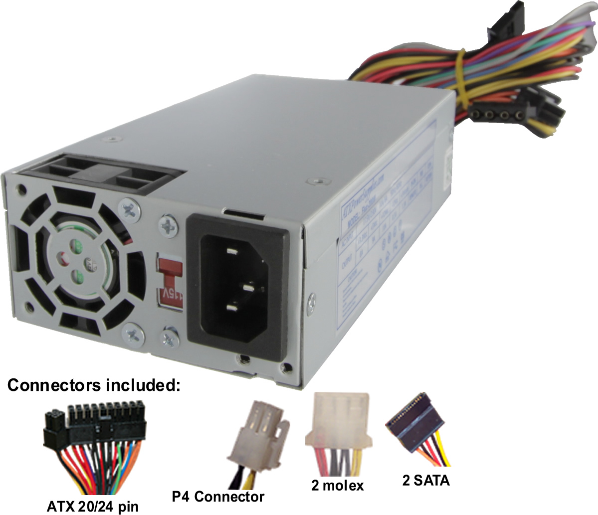 200 Watt Flex ATX Power Supply for Shuttle Computers