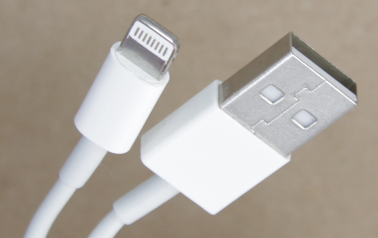 iPhone 5/5C/5S/6/6+ 8 Pin USB Charger Cable 3ft 1M