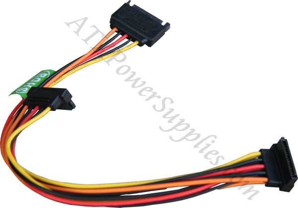 Sata Power Splitter : Sata splitter right angle power y
